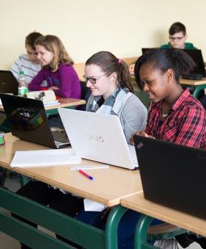 Computerraum Schüler