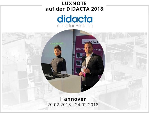 Luxnote Bildungsmesse Didacta 2018